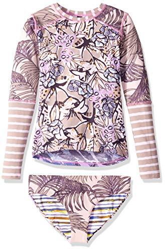 Maaji Big Girls' Long Sleeve Rashguard Swimsuit Set, for sale  Delivered anywhere in USA