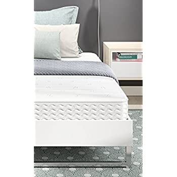 signature sleep contour 8 inch independently encased coil mattress with certipur us. Black Bedroom Furniture Sets. Home Design Ideas
