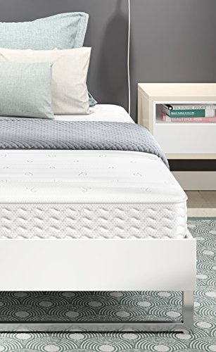 Signature Sleep Contour 8 Inch Independently Encased Coil Mattress with Low VOC CertiPUR-US Certified Foam, 8 Inch Full Coil Mattress - Available in Multiple Sizes