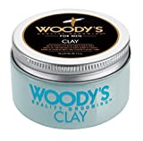 Woody's Matte Finish Clay for Men, Styling, 3.4 Ounce
