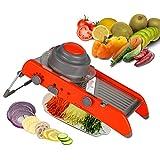 Mandoline slicer,Adjustable Mandoline Slicer Kitchen Stainless...