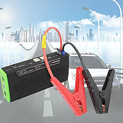 UMEI 16000mAh Multi-purpose Portable SOS Car Jump Starter Power Bank Battery Booster Charger US Plug