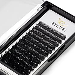 Eyelash Extensions 0.20 C Curl Lash Extensions Individual Lashes Faux Mink Eyelash Extensions 9-15mm Mixed Tray Salon Perfect Use By EYEMEI