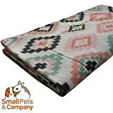 Guinea Pig Fleece Cage Liner for Midwest Habitat | Guinea Pig Bedding | Guinea Pig Fleece | Pretty Diamonds