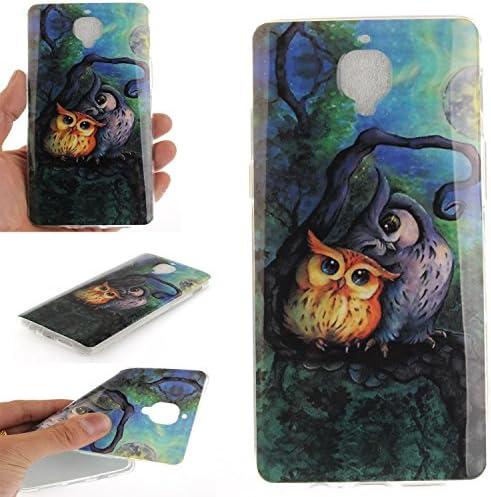 Guran® Silicona Funda Carcasa para OnePlus 3 / OnePlus 3T Smartphone Case Bumper Shock TPU Cover-Pintura al óleo búho: Amazon.es: Electrónica