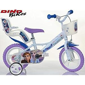 51GEuM9%2BjoL. SS300 Cicli Puzone Bici 12 Frozen Dino Bikes Art. 124RL-FZ3 Modello Nuovo