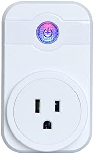 Mini Pop Socket Smart Plug WiFi Outlet Wireless Remote Control Switch No Need Hub Working with Amazon Alexa Google Home Voice Control with Timing Function for Android and iOS Devices (1)