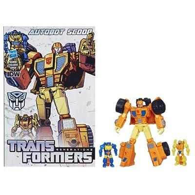 Transformers Generations Deluxe Scoop Action Figure