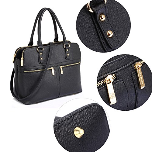 Synthetic Work London Women Hold Case Style Shoulder Xardi Black Day Bag Eva Sized Bags Leather Ladies Bags 2 tFqEOPxEw