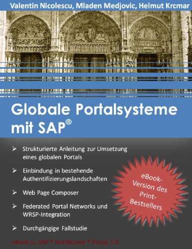 Download Globale Portalsysteme mit SAP (German Edition) Pdf