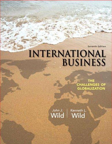 International Business + Myiblab With Pearson Etext Access Card