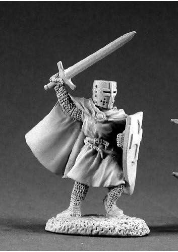 Reaper Miniatures Knight Templar #02188 Dark Heaven Legends Unpainted Metal