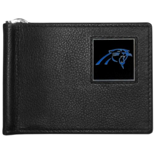 NFL Carolina Panthers Leather Bill Clip ()