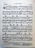 S-H-I-N-E, sheet music from