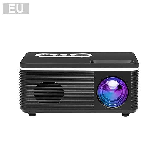 Sanmubo Mini proyector Full HD 1080P Display Portátil Mini ...