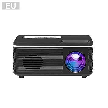 Enjoyyouselves - Mini proyector portátil actualizado DLP 1000 ...