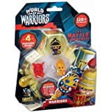 World of Warriors Assorted Playset (Pack of 2)  Amazon.co.uk  Toys ... aa92635f826
