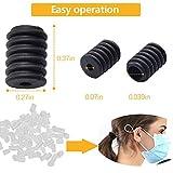 100Pcs Elastic Round Mask Adjustment Silicone