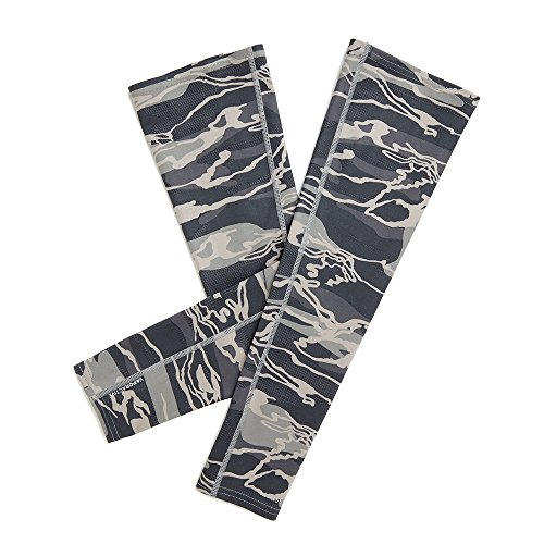 (Mission VaporActive Arm Sleeves, Matrix Camo Moonless Night, Large/X-Large)