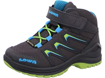 how to buy best supplier new lifestyle Lowa Maddox GTX Mid-Cut Schuhe Kinder Graphite/Lime 2019