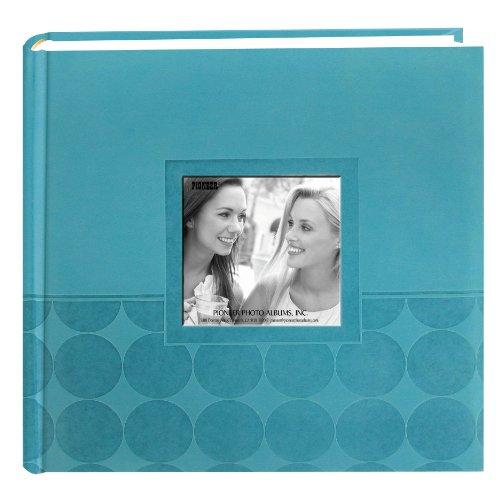 Embossed Circles Blue (Pioneer Embossed 2-Up Photo Album 4