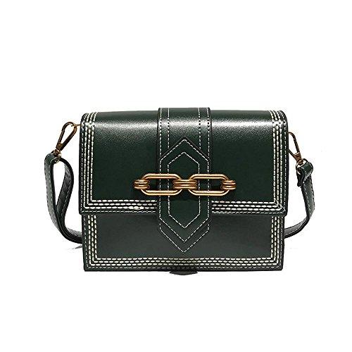 oblique femme de pure et Simple sac unique couleur marée carré Aoligei B sac mode petit à bandoulière P0vXwdx