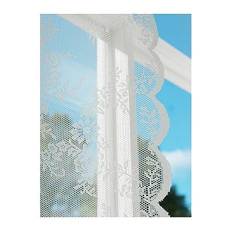 Ikea Alvine Spets Sheer Curtain 2 Panels, Off White