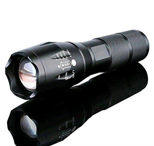 Flashlight,LEDeng 5000 Lumen 5 Modes T6 Zoomable LED 18650 Flashlight Torch Lamp Light G700 X800