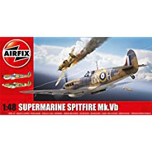 Airfix Supermarine Spitfire MkVb 1:48 Scale Airplane Plastic Model Kit A05125