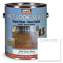 Anvil Wet Look Sealer Super Clear Gloss Acrylic - 1 Gallon