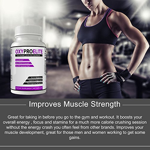 Oxy Pro Elite Supplement - Extreme Lean Thermogenic Fat Burner Formula Pills for Women and Man Natural Weight Loss Sports Nutrition Supply Original by nutra4health | 60 Days (1 Bottle 60Ct)