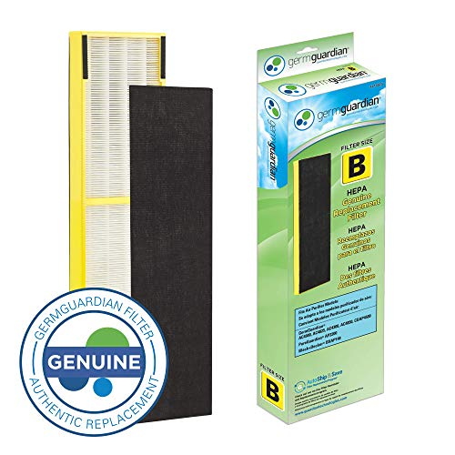 GermGuardian Air Purifier Filter FLT4825 GENUINE HEPA Replacement Filter B