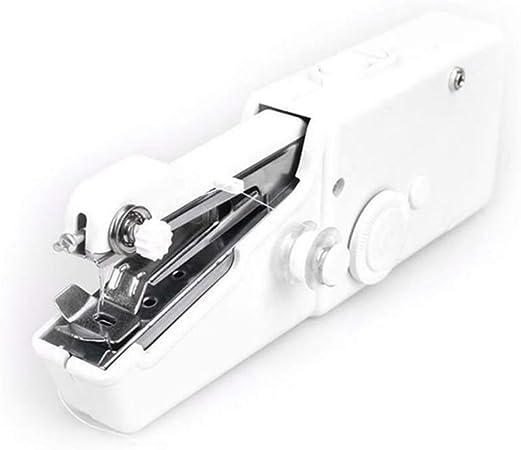 Aeebuy - Mini máquina de Coser eléctrica portátil: Amazon.es: Hogar