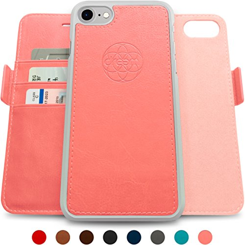 finest selection 5bfb6 9a990 Dreem iPhone 7-8 Wallet Case, Magnetic Detachable Slim-Case ...