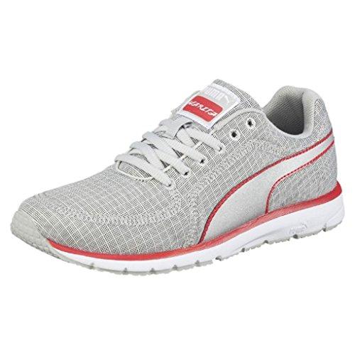 PUMA Women's Narita V3 Quilt Running Shoe, Gray Violet/Black Silver, 8 M US