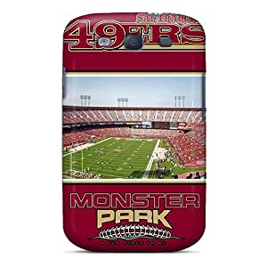Great Cell-phone Hard Cover For Samsung Galaxy S3 With Custom Beautiful San Francisco 49ers Image JohnPrimeauMaurice