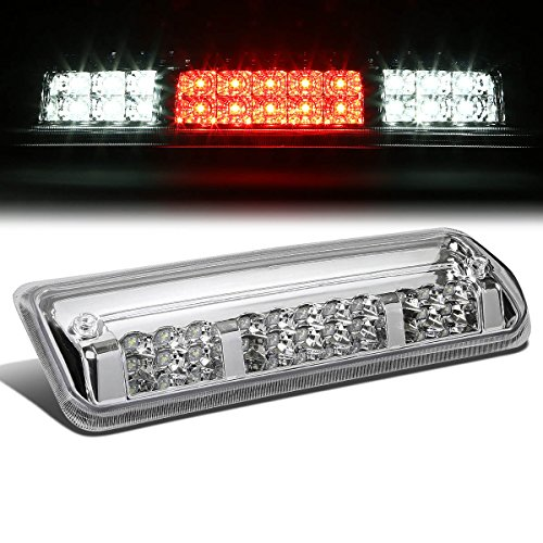 For Ford F150 11th Gen/Lincoln Mark LT High Mount Dual Row LED 3rd Brake/Cargo Light (Chrome ()