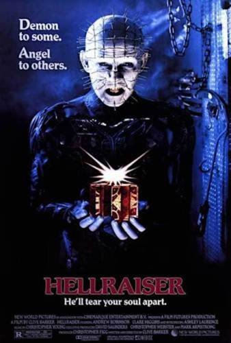 Hellraiser - Horror Movie Poster