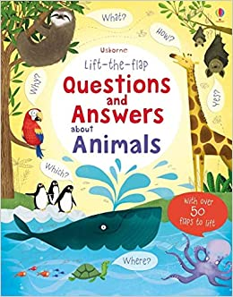 amazon lift the flap questions and answers about animals lift the