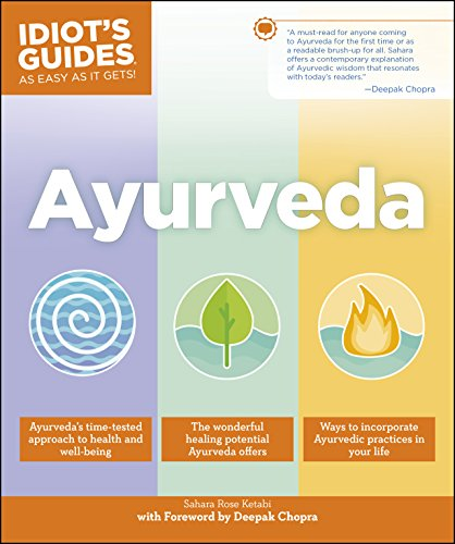 Ayurveda (Idiot's Guides) cover