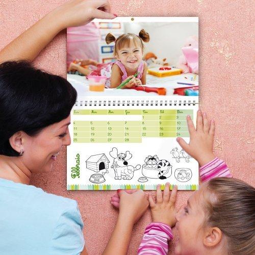 Calendario Personalizzato 12 pagine + Copertina (super A3) bigliettodavisita.eu