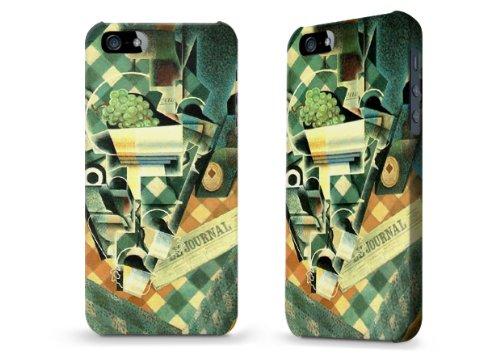 """Hülle / Case / Cover für iPhone 5 und 5s - """"Checked Tablecloth"""" von Juan Gris"""