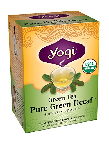 Yogi Simply Decaf Green 16 count product image