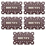 Set of Five 3' x 1.75' BOUNTY Poker Plaques by Brybelly