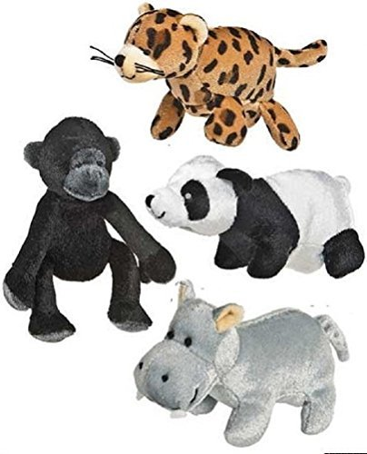 Mary Meyer Knucklehead Finger Puppets, Jungle Friends