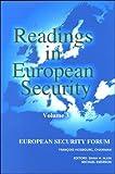 Readings in European Security, , 9290795905