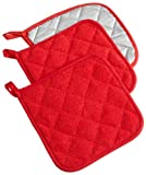 #9: DII Cotton Terry Pot Holders, 7x7