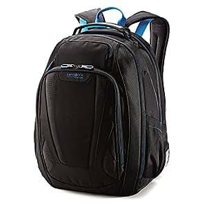 Samsonite Luggage Vizair Laptop Backpack (One size, Black/Electoric Blue)