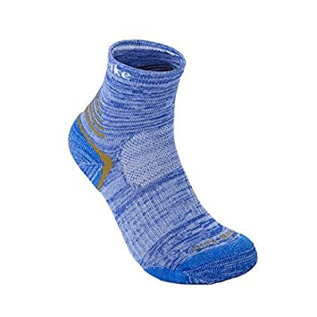 Calcetines deportivos térmicos de lana y tela coolmax para hombre de STARHOME, 2 pares, azul: Amazon.es: Deportes y aire libre
