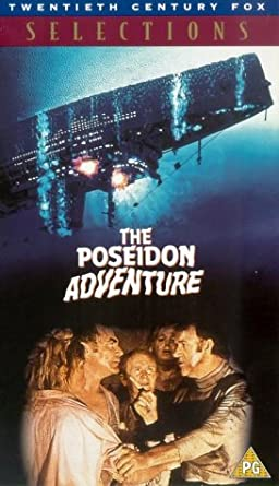The Poseidon Adventure Vhs 1972 Gene Hackman Ernest